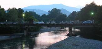 Пересечение границы на реке Псоу