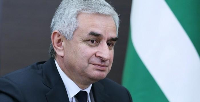 Рауль Хаджимба - президент Абхазии