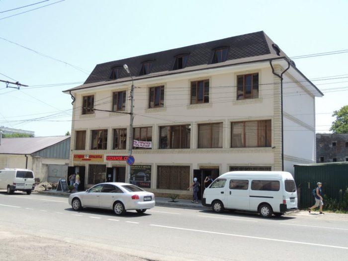 Отель Платинум - главный вход