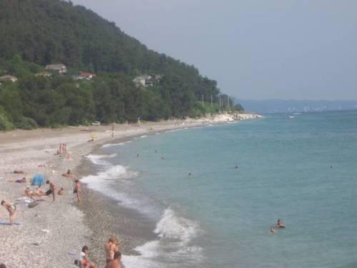 Мила - гостевой дом - вид на пляж