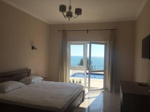 Отель Астан - вид на море из окна