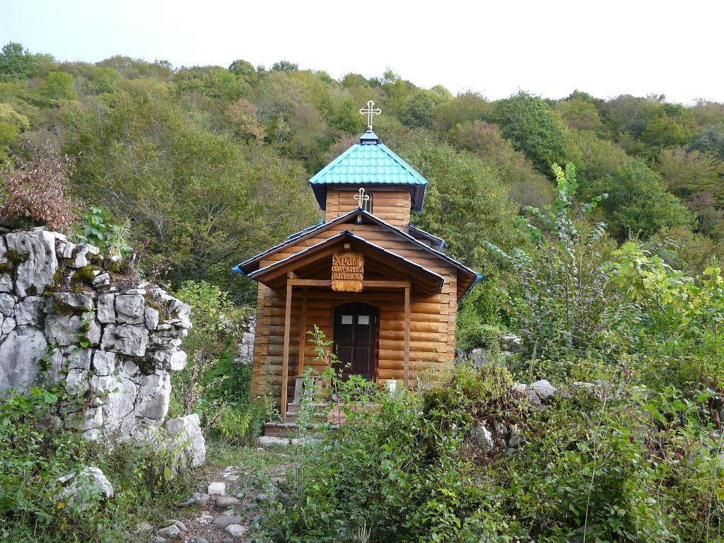 Храм Василиска в Абхазии