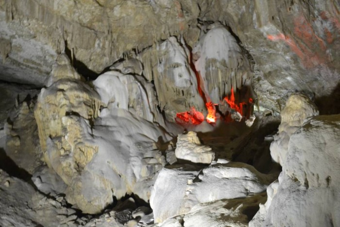Пещера в Новом Афоне