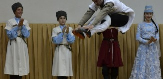 Традиционный танец в Абхазии