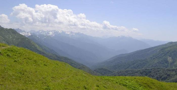 Лечебные горы Абхазии