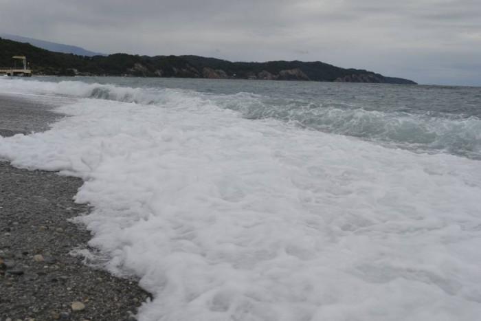 Море Пицунды в Абхазии