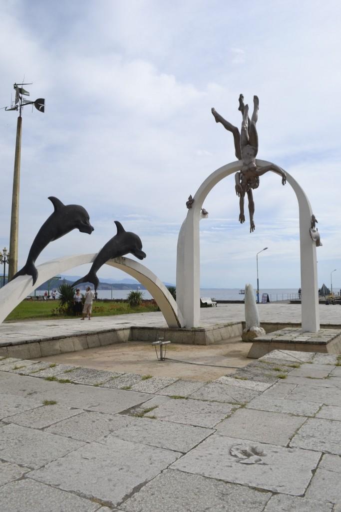Скульптура Ныряльщики-Купальщики