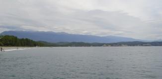 Море и небо Пицунды