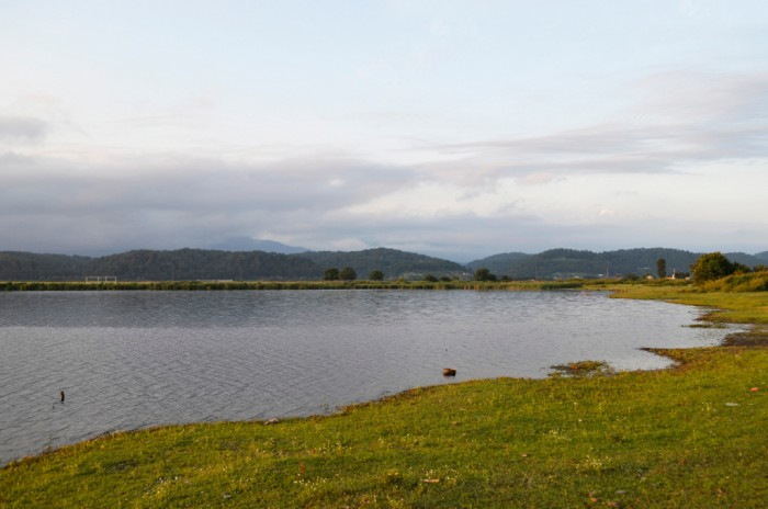 Озеро Инкит в Пицунде